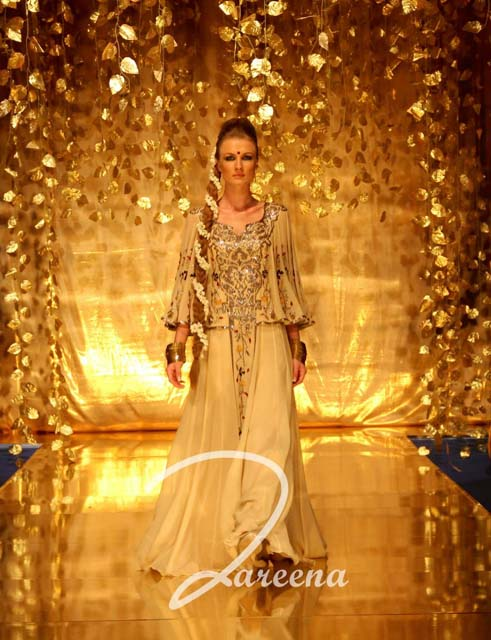 Zareena Arabian Summer wedding Party Dresses Collection 2012 2013