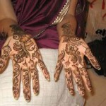 arabic mehndi design for hand