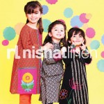 nishat linen kids festive collection 2012 002