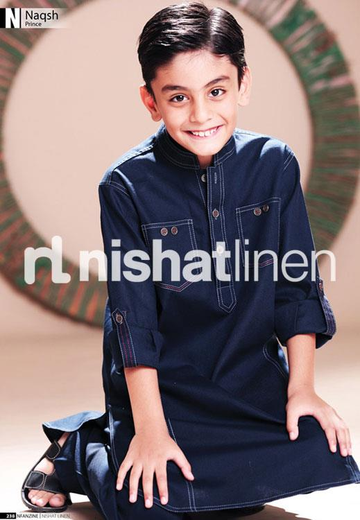 nishat linen kids festive collection 2012