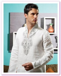 utsav new linen pathani suit ready made collection 2012 13 for men 001