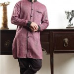 utsav new linen pathani suit ready made collection 2012 13 for men 003