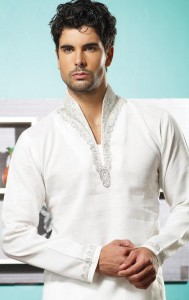 utsav new linen pathani suit ready made collection 2012 13 for men 005