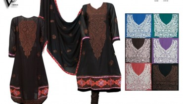 vs textiles girls kurti and frock design 2012 13 006