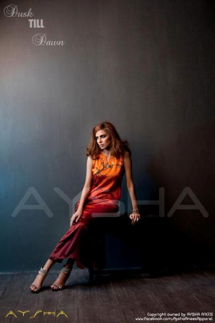 Aysha Anees Latest Casual Wear Winter Collection 2012-13 For Girls (4)