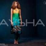 Aysha Anees Latest Party Wear Winter Dress 2012-13 For Women (2)