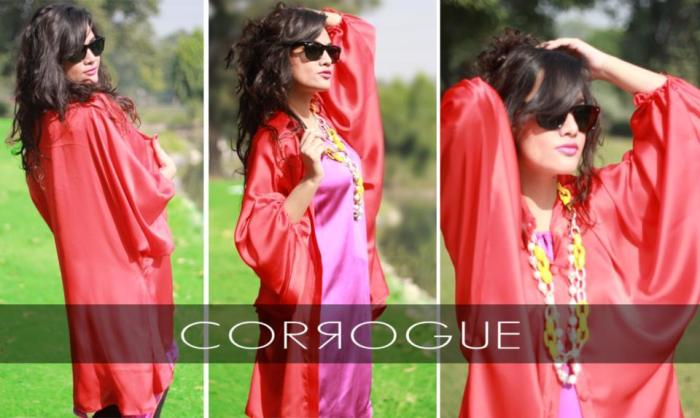 Corrogue Latest Winter Party Wear Outfits 2012-2013 For Women 002