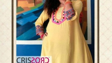 Crisscross Latest Winter Embroidered Dresses 2012-13 For Girls 001