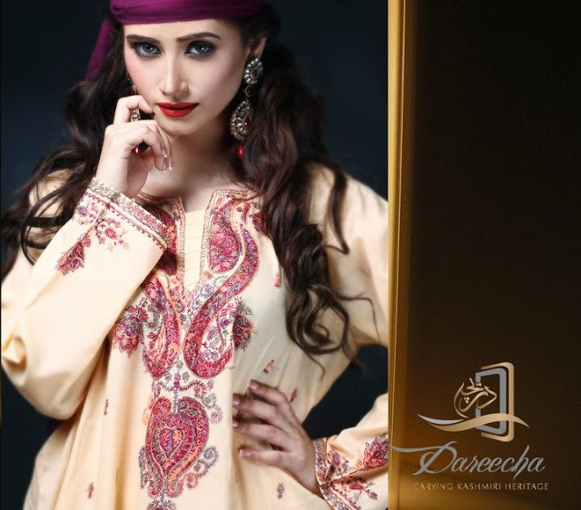 Dareecha Kashmiri Party wear Collection 2012-13 For women (2)