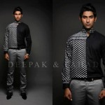 Deepak & Fahad Latest Winter Dress Collection 2012-13 For Men (1)