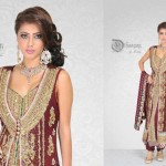 Dhaagay New Fall & Winter Party Wear Dresses 2012-13 For Women 001