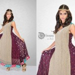 Dhaagay New Fall & Winter Party Wear Dresses 2012-13 For Women 0010