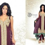 Dhaagay New Fall & Winter Party Wear Dresses 2012-13 For Women 002
