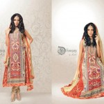 Dhaagay New Fall & Winter Party Wear Dresses 2012-13 For Women 008