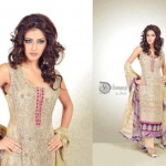Dhaagay New Fall & Winter Party Wear Dresses 2012-13 For Women 009