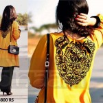 Dhaani Women Winter Dresses Latest Collection 2013 & Price (12)