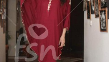 FSN Dressline Latest Winter Dresses 2012-13 With Nadia Hussain 001