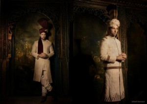 Fahad Hussayn Latest Groom & Bridal Dresses 2012-2013 For Wedding 004