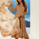 Firdous Cloth Mills Latest Winter Paris Linen Dresses 2012-13 For Women 003