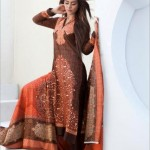 Firdous Cloth Mills Latest Winter Paris Linen Dresses 2012-13 For Women 005