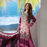 Firdous Cloth Mills Latest Winter Paris Linen Dresses 2012-13 For Women 006