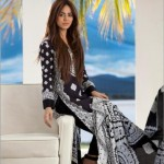 Firdous Cloth Mills Latest Winter Paris Linen Dresses 2012-13 For Women 007