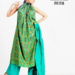 Five Star Textiles Latest Winter Dress Collection 2012-13 For Women (1)