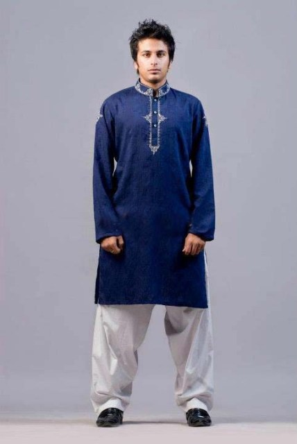 Ittehad Latest winter shalwar kameez collection 2012 for Men
