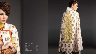 Ittehad Textiles Latest Winter Embroidered Dresses 2012-13 For Women 001