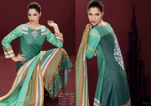 Ittehad Winter Latest Dresses Khaddar Collection 2012-13 For Women (8)