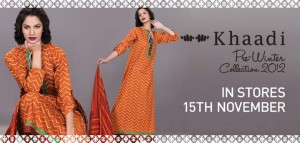 Khaadi Pre Latest Fall Winter Dresses Collection 2012-13 For Women (1)