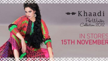 Khaadi Pre Latest Fall Winter Dresses Collection 2012-13 For Women