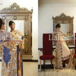 Lala Textiles Latest Winter Pashmina Shawl Dresses 2012-2013 For Women 0010