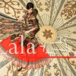Lala Textiles Latest Winter Pashmina Shawl Dresses 2012-2013 For Women 0011