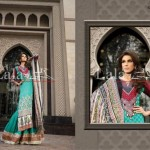 Lala Textiles Latest Winter Pashmina Shawl Dresses 2012-2013 For Women 002
