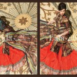 Lala Textiles Latest Winter Pashmina Shawl Dresses 2012-2013 For Women 003
