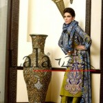 Lala Textiles Latest Winter Pashmina Shawl Dresses 2012-2013 For Women 006