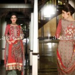 Lala Textiles Latest Winter Pashmina Shawl Dresses 2012-2013 For Women 009