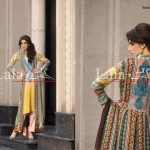Lala Textiles Latest Winter Pashmina Shawl Dresses 2012-2013 For Women