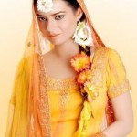 Latest Bridal Mehndi Dress Collection 2012-13