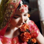 Latest Bridal Mehndi Dress Collection 2012-13 For Women