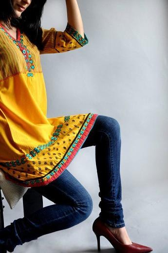 Latest Lajna Winter Dress Formal weear Collection 2012-2013 For Women (1)