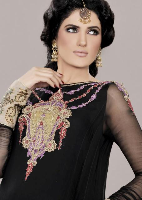 Latest Party Wear Dress Collection 2012-13 For Women (1)