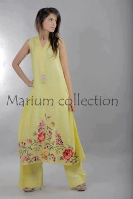 Latest Party Wear Dresses 2012-2013 For Women By Marium Collection (1)