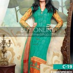 Latest Winter Dress Collection 2012-13 For Girls & Women By Gul Ahmed (5)