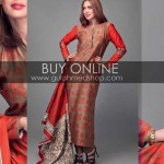 Latest Winter Dress Collection 2012-13 For Girls & Women By Gul Ahmed (9)