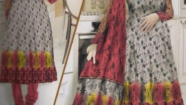 Latest Winter Italian Linen Dresses 2012-13 For Women By Lala Textiles 001
