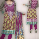 Latest Winter Italian Linen Dresses 2012-13 For Women By Lala Textiles 005