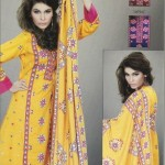 New Turkish Linen Dresses 2012-13 Designs For Women By Lala Textiles 0013