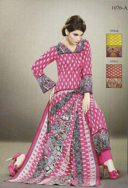 New Turkish Linen Dresses 2012-13 Designs For Women By Lala Textiles 003